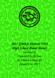 2017 GMEA District VIII  High School Honor Band Concert