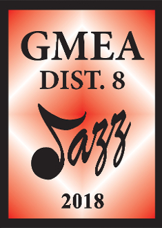 2018 GMEA District VIII  High School Jazz Band Concert